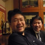 朝鮮半島の緊張が高まるなか、適菜収さん・中野剛志さんと飲む
